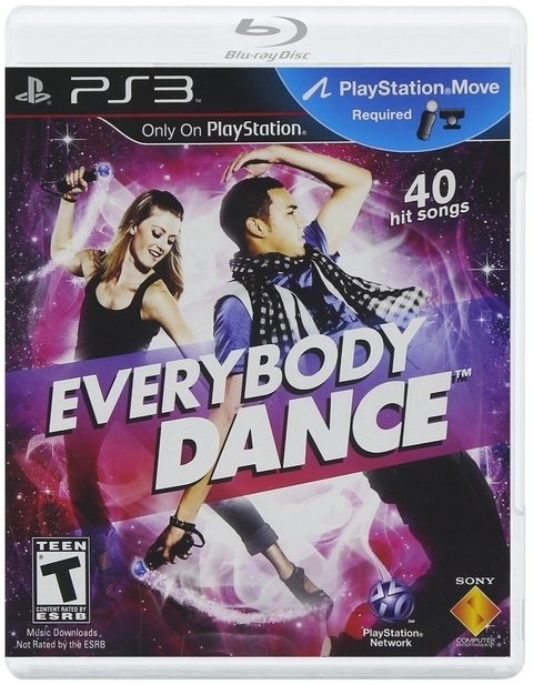 EVERYBODY DANCE PS3