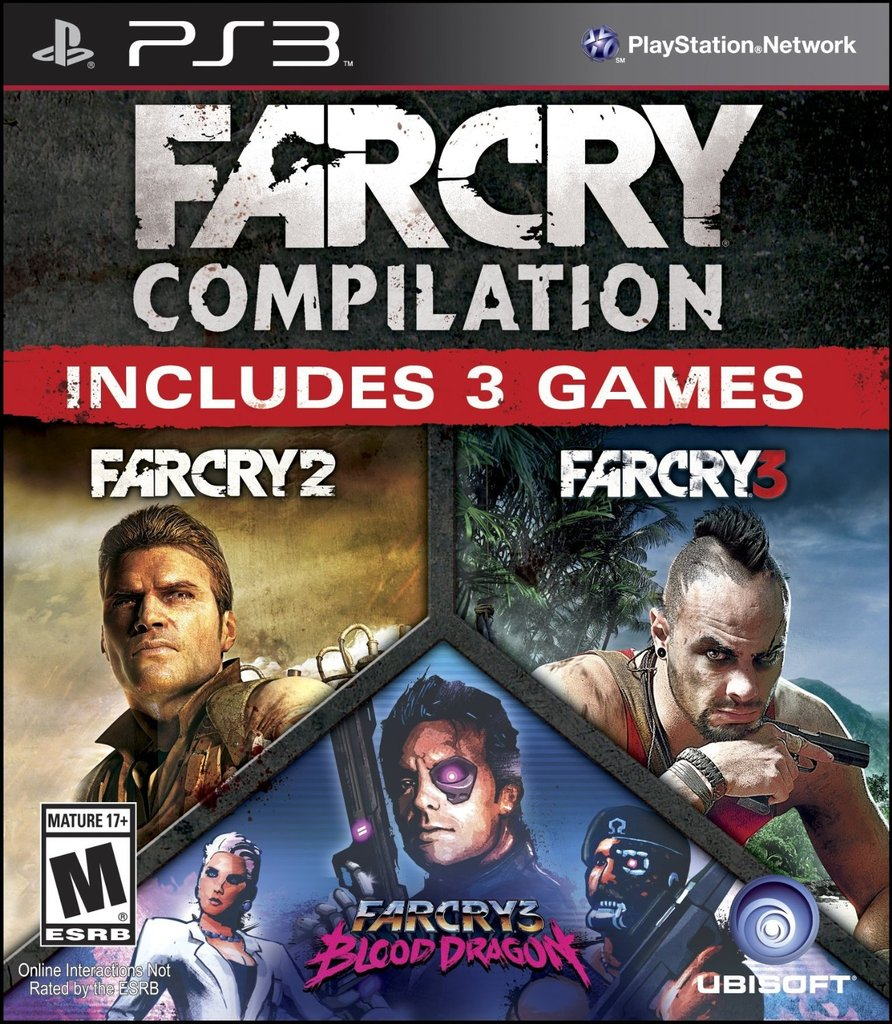 FAR CRY COMPILATION PS3