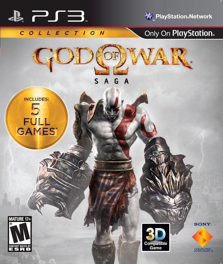 GOD OF WAR SAGA COLLECTION PS3