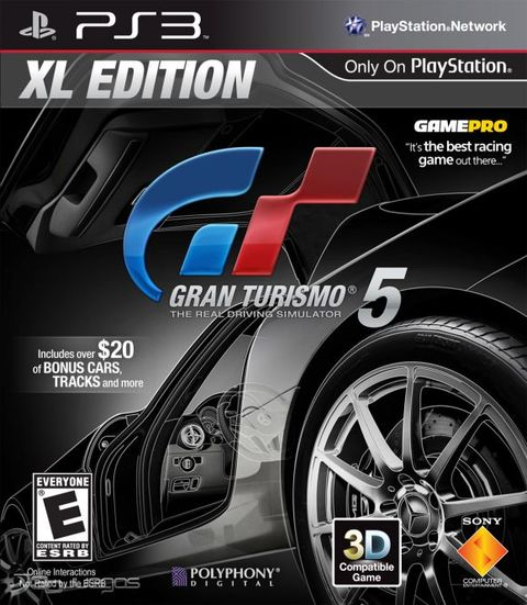 GRAN TURISMO 5 XL EDITION PS3