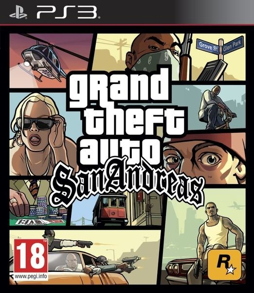 GRAND THEFT AUTO SAN ANDREA PS3
