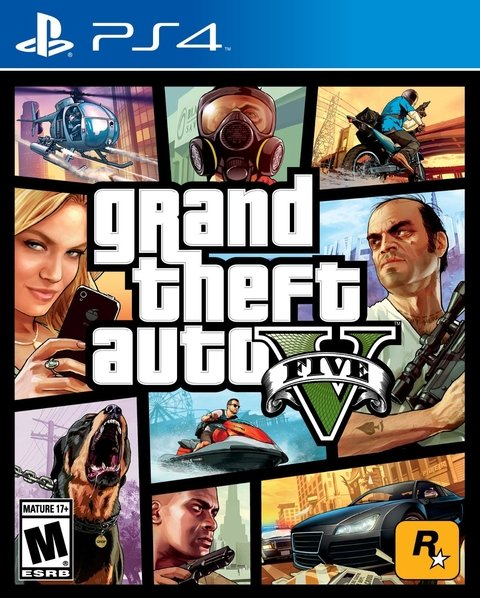 GRAND THEFT AUTO V PS4 - GTA 5 - comprar online