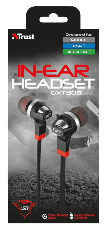 IN EAR PS4 / XBOX ONE - TRUST