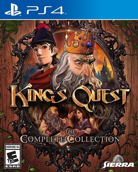KING'S QUEST ADVENTURES OF GRAHAM PS4