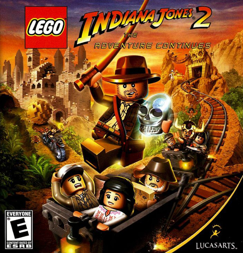 LEGO INDIANA JONES 2 PS3