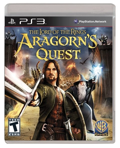 THE LORD OF THE RINGS ARAGON'S QUEST MOVE PS3