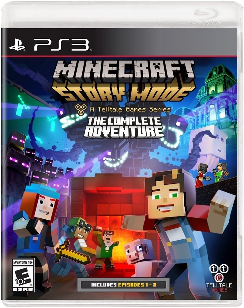 MINECRAFT STORY MODE THE COMPLETE ADVENTURE PS3