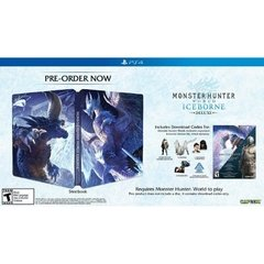 MONSTER HUNTER WORLD ICEBORNE STEEL BOOK - PS4 - comprar online