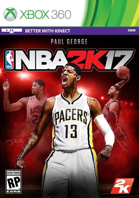NBA 2K17 XBOX 360 - Play For Fun