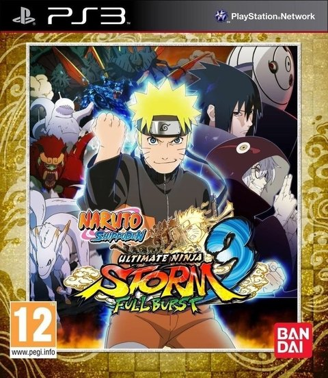 NARUTO SHIPPUDEN 3 FULL BURST PS3