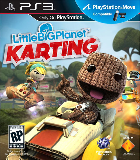 LITTLE BIG PLANET KARTING PS3