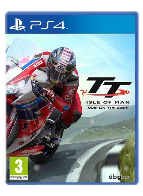 TT ISLE OF MAN: RIDE ON HE EDGE PS4