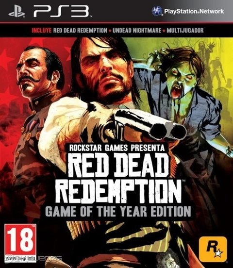 RED DEAD REDEMPTION GOTY EDITION PS3