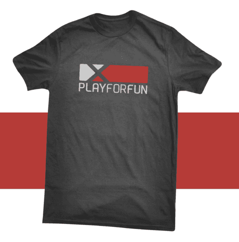 REMERA OFICIAL PLAY FOR FUN