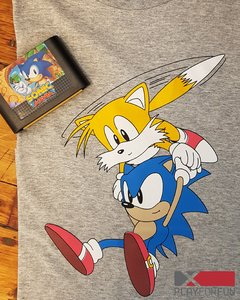 REMERA OFICIAL SONIC & TAILS
