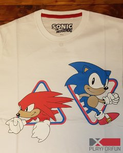 REMERA OFICIAL SONIC & KNUCKLES