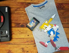 REMERA OFICIAL SONIC & TAILS - comprar online