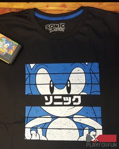 REMERA OFICIAL SONIC JAPAN