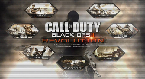 REVOLUTION MAP PACK BLACK OPS II - PS3 DIGITAL