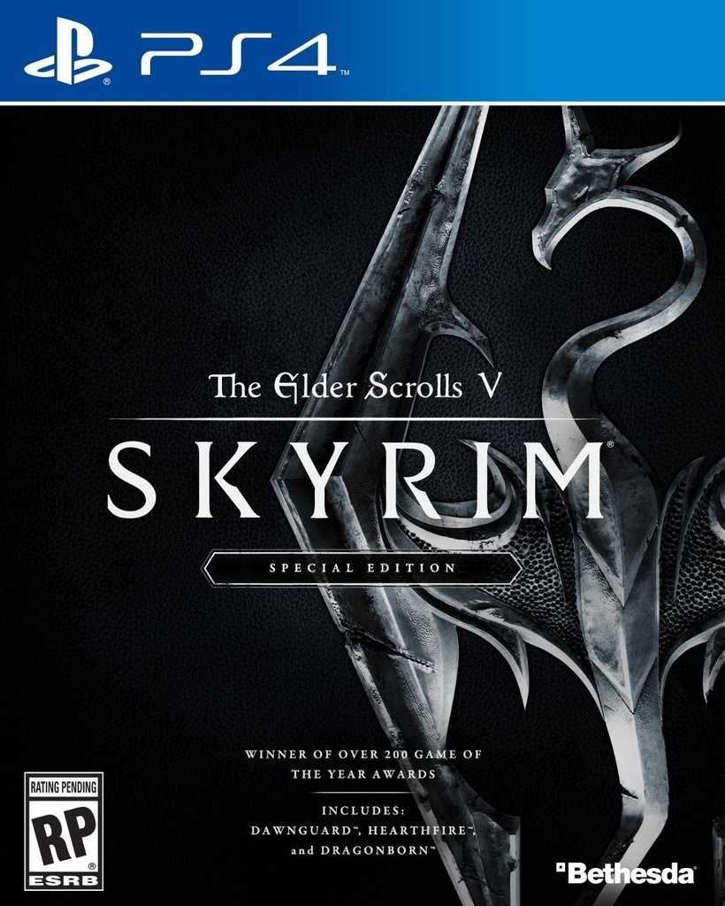 THE ELDER SCROLLS V SKYRIM - SPECIAL EDITION - PS4