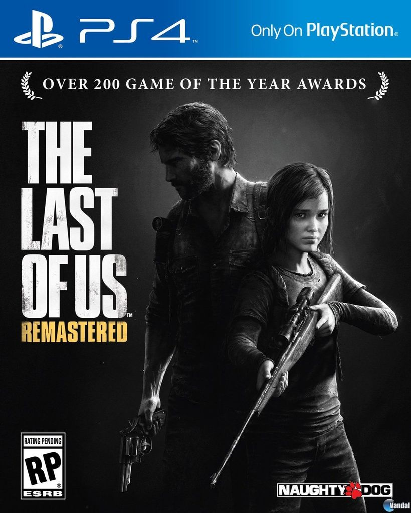 THE LAST OF US REMASTERED PS4