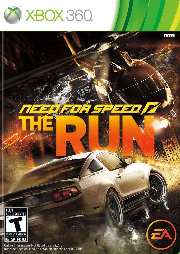 NEED FOR SPEED THE RUN XBOX 360 - comprar online