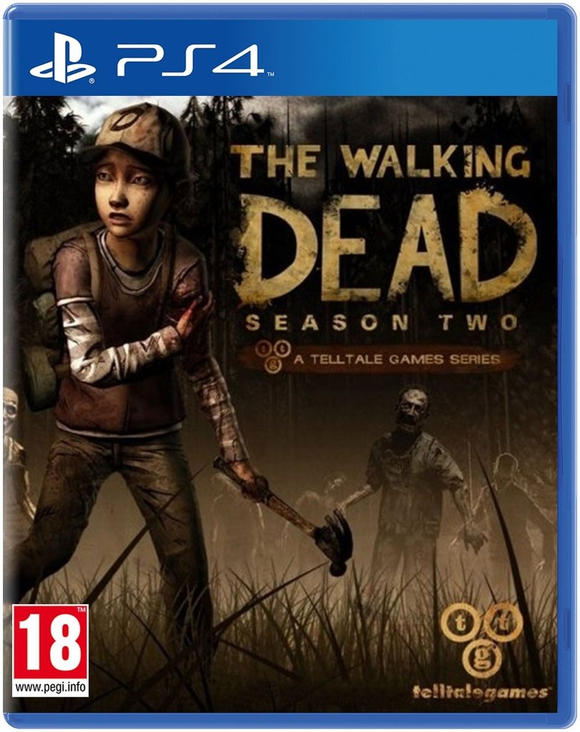 THE WALKING DEAD: SEASSON TWO PS4