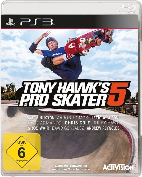 TONY HAWK´S PRO SKATER 5 PS3