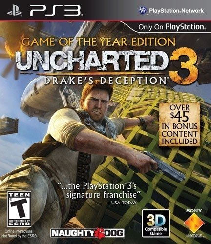 UNCHARTED 3 GOTY EDITION PS3