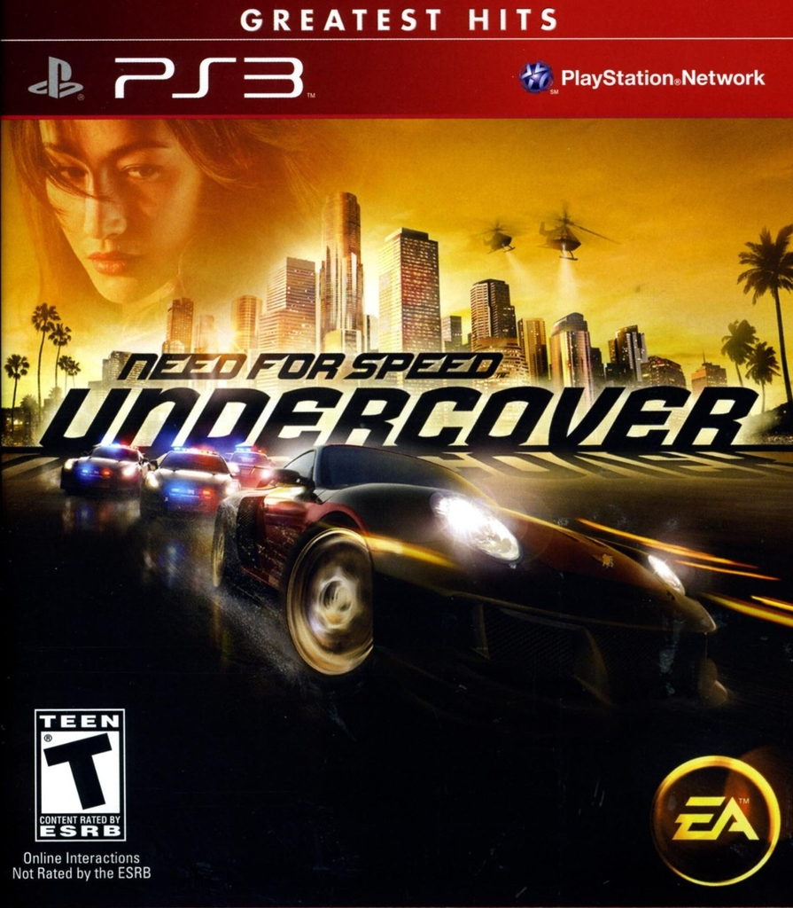 NEED FOR SPEED UNDERCOVER PS3 - comprar online