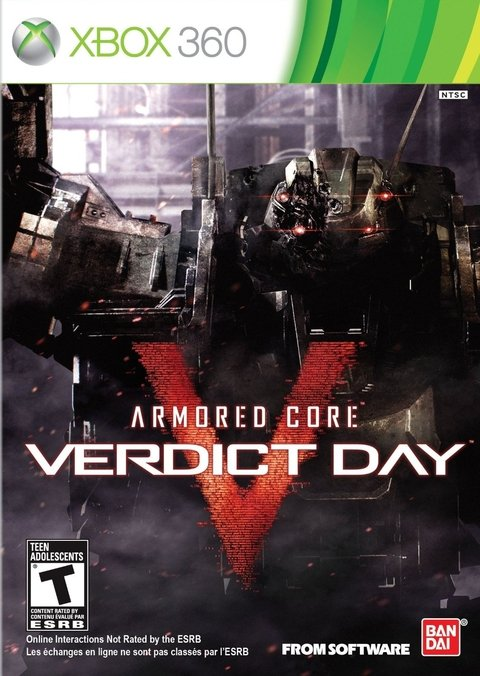ARMORED CORE VERDICT DAY XBOX360