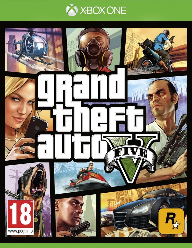 GRAND THEFT AUTO V XBOX ONE - GTA V - comprar online