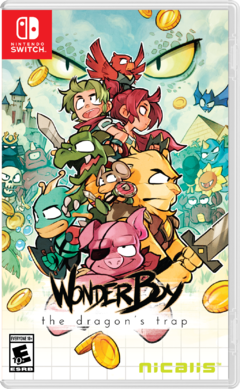 WONDER BOY - NINTENDO SWITCH