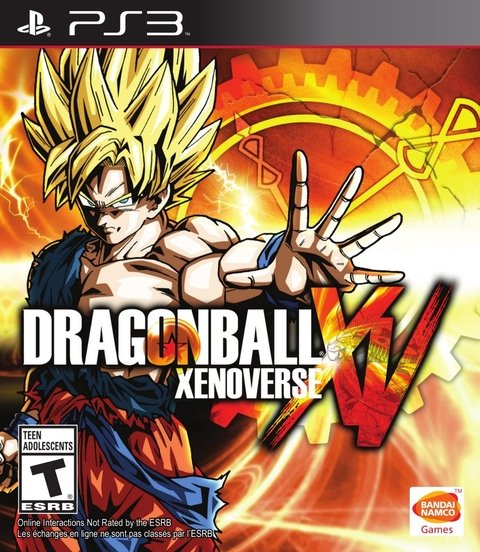 DRAGON BALL XENOVERSE PS3 - comprar online
