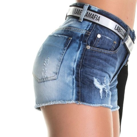 SHORTS JEANS LABELLAMAFIA SHJ593-EASY JUMP FIT STORE