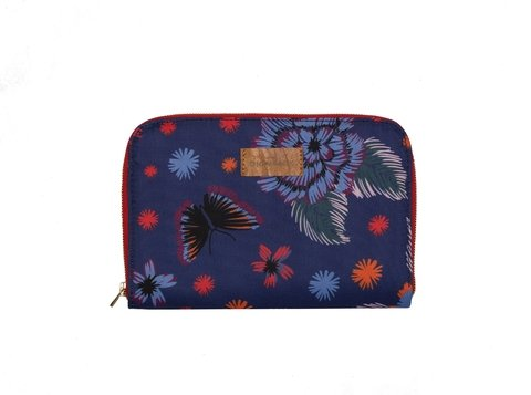 Travel Pocket Flores Azul - comprar online