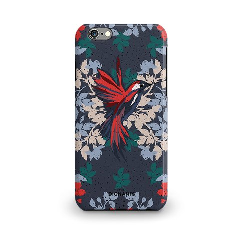 iPhone Case Colibri azul