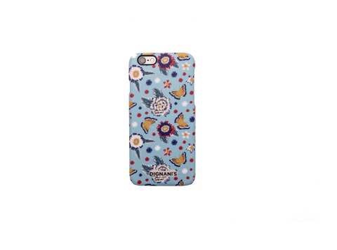 iPhone Case Bordado celeste