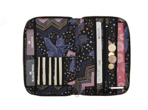 Travel Pocket Unicornio negro - comprar online