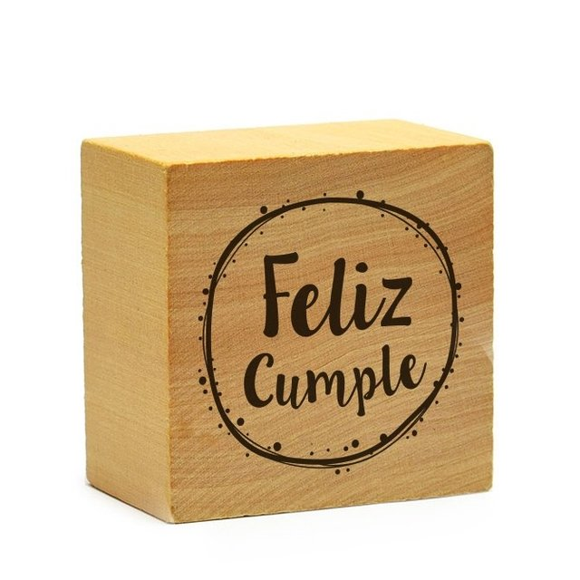Sello Feliz Cumple - GR