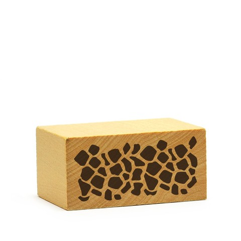Sello Animal Print Jirafa - MD