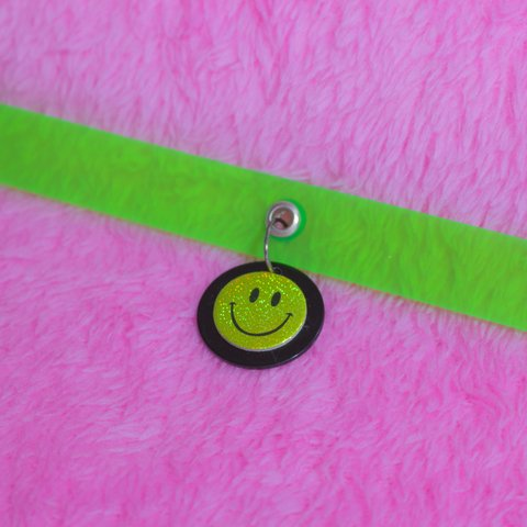 CHOKER SMILEY NEON II