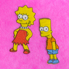 Patches - Lisa / Bart