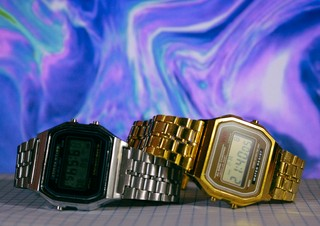 Casio A168 - Gold - Inspired - loja online