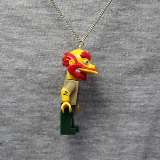 Colar - Willie / Simpsons Lego - loja online