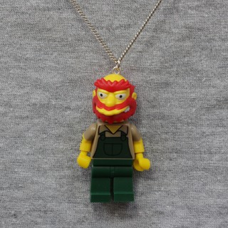 Colar - Willie / Simpsons Lego