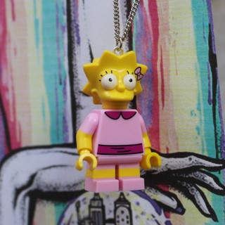 Colar - Lisa / Simpsons Lego - Labjur