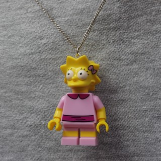 Colar - Lisa / Simpsons Lego na internet