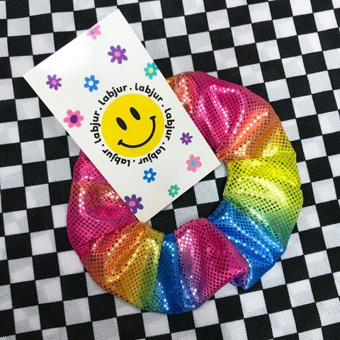 Scrunchie - Rainbow Glow