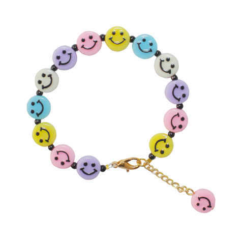 Pulseira Smiley Candy Colors - comprar online